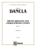 Dancla: Twenty Brilliant and Characteristic Etudes, Op. 73 - String Instruments