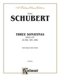 Schubert: Three Sonatas, Op. 137 - String Instruments