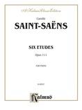 Saint-Saëns: Six Etudes, Op. 111 - Piano
