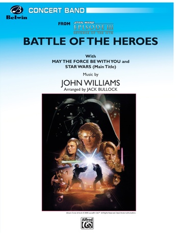 The Battle of the Heroes (from Star Wars®: Episode III Revenge of the Sith) - Concert Band