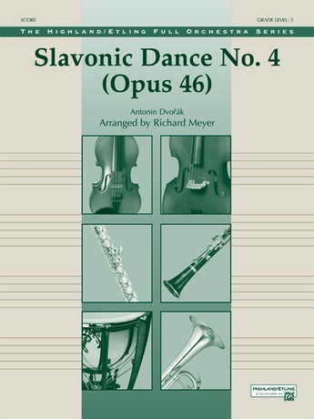 Slavonic Dance No. 4 (Op. 46) - Full Orchestra