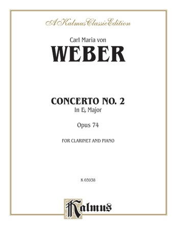Weber: Concerto No. 2 in E flat Major, Op. 74 - Woodwinds