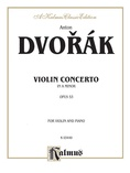 Dvorák: Violin Concerto in A Minor, Op. 53 - String Instruments