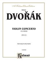 Dvorák: Violin Concerto in A Minor, Op. 53 - String Instruments