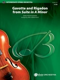 """Gavotte"" and ""Rigadon"" from Suite in A Minor - String Orchestra"