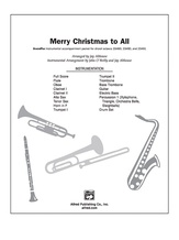 Merry Christmas to All (A Medley of Carols) - Choral Pax