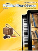 Premier Piano Course, Jazz, Rags & Blues 1B - Piano