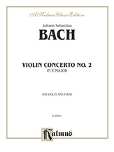 Bach: Violin Concerto No. 2 in E Major - String Instruments