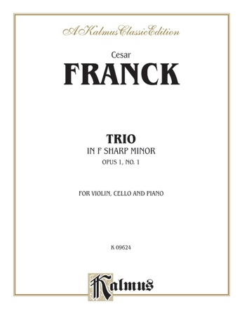 Franck: Trio in F sharp Minor, Op. 1, No. 1 - String Ensemble