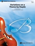 Variations on a Theme by Haydn - Full Orchestra
