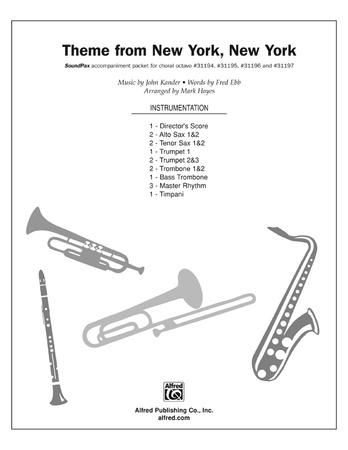 Theme from New York, New York - Choral Pax
