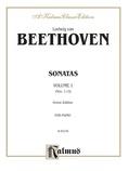 Beethoven: Sonatas (Urtext), Volume I (Nos. 1-15) - Piano