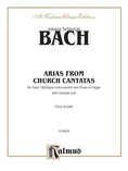 Bach: 12 Bass Arias from Church Cantatas (German) - Voice