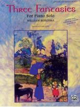 Three Fantasies - Piano Solo - Piano