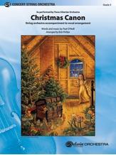Christmas Canon - String Orchestra