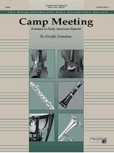 Camp Meeting (Fantasia on Early American Hymns) - Full Orchestra