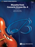 Musette from Concerto Grosso No. 6 - String Orchestra