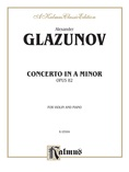 Glazunov: Concerto in A Minor, Op. 82 - String Instruments
