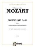 Divertimento No. 11, K. 251 - Woodwind Quartet