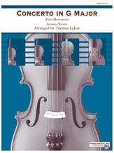 Concerto in G Major - String Orchestra