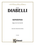 Diabelli: Sonatinas, Op. 24, 54, 58, 60 - Piano Duets & Four Hands