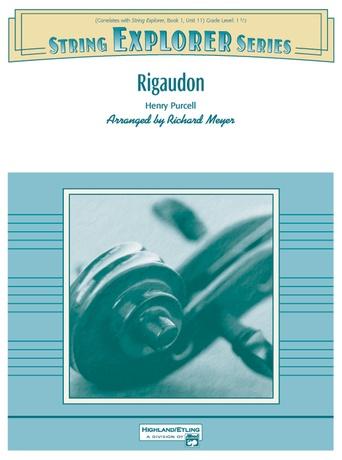 Rigaudon: Piano Accompaniment -