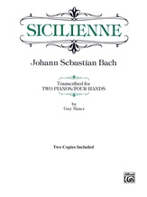Sicilienne - Piano Duo (2 Pianos, 4 Hands) - Piano Duets & Four Hands