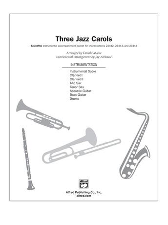 Three Jazz Carols - Choral Pax