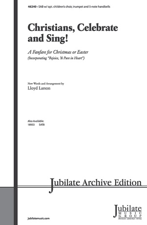 Christians, Celebrate and Sing! - Choral