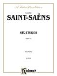 Saint-Saëns: Six Etudes, Op. 52 - Piano