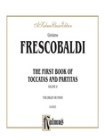Frescobaldi: First Book of Toccatas and Partitas for Organ or Cembalo (Volume II) - Organ