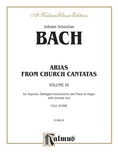 Bach: Soprano Arias from Church Cantatas, Volume III (German) - Voice