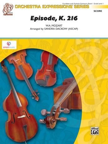 Episode, K. 216 - String Orchestra