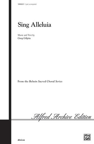 Sing Alleluia - Choral