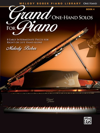 Grand One-Hand Solos for Piano, Book 4: 8 Early Intermediate Pieces for Right or Left Hand Alone - Piano