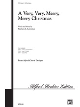 A Very, Very, Merry, Merry Christmas - Choral