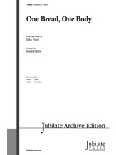 One Bread, One Body - Choral