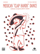"""Mexican """"Clap Hands"""" Dance - Piano Quartet (2 Pianos, 8 Hands) - Piano"""