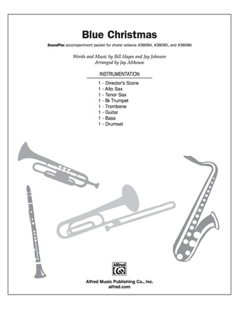 Blue Christmas - Choral Pax