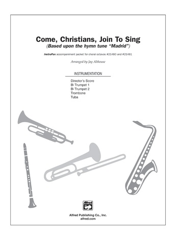 Come, Christians, Join to Sing - Choral Pax