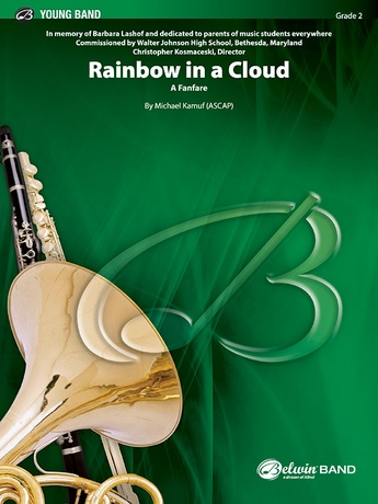 Rainbow in a Cloud - Concert Band
