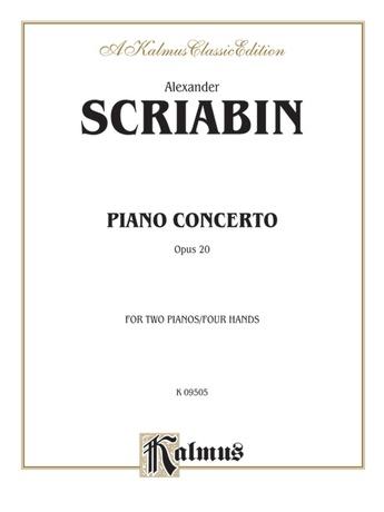 Scriabin: Piano Concerto, Op. 20 - Piano Duets & Four Hands