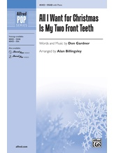 All I Want for Christmas Is My Two Front Teeth - Choral