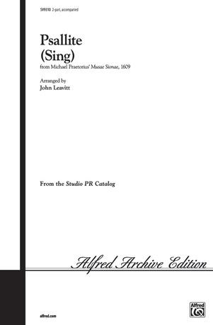 Psallite (Sing) - Choral