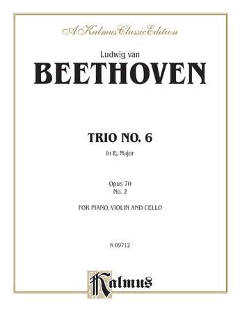 Beethoven: Trio No. 6, in E flat Major, Op. 70, No. 2 (for piano, violin, and cello) - String Ensemble