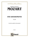 Mozart: Five Divertimenti, K. 229 - Mixed Ensembles