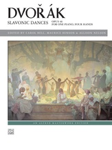 Dvorák: Slavonic Dances, Opus 46 - Piano Duet (1 Piano, 4 Hands) - Piano Duets & Four Hands