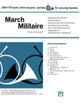 March Militaire - Concert Band