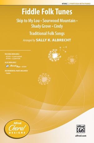 Fiddle Folk Tunes - Choral