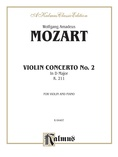 Mozart: Violin Concerto No. 2 in D Major, K. 211 - String Instruments